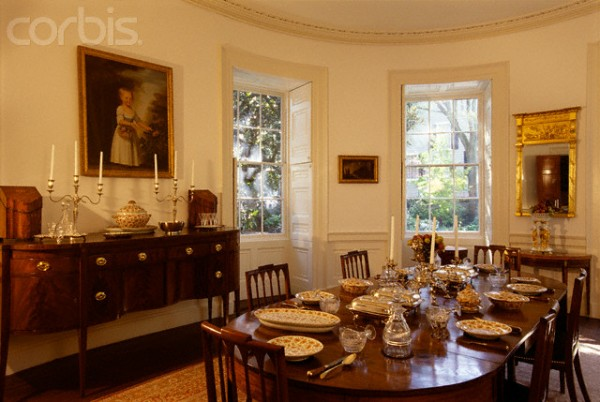 Dining Room of the Nathaniel Russell House