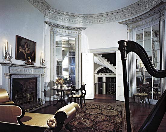 Nathaniel Russell House Charleston South Carolina