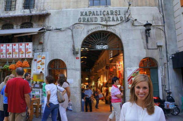 Jeff had no idea what he was getting in to: The Grand Bazaar is a shopping lover's dream!