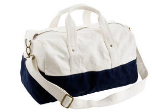 Canvas Overnight Bag from JCrew