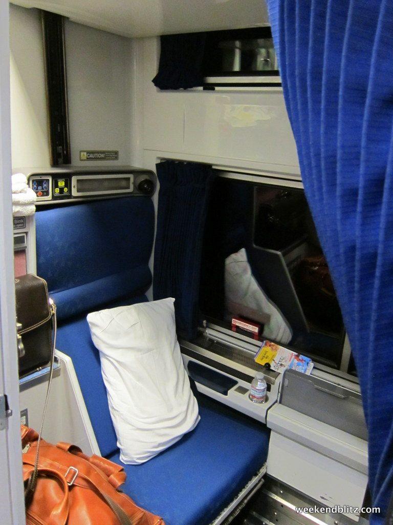 Amtrak Silver Meteor 98 Roomette Charleston To New York