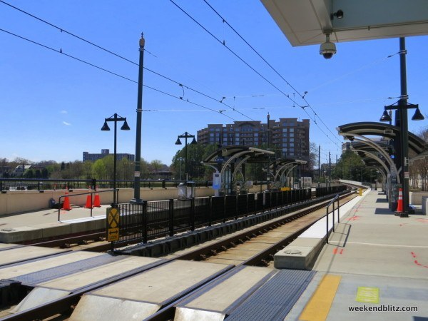 Rocking its very own light rail stop