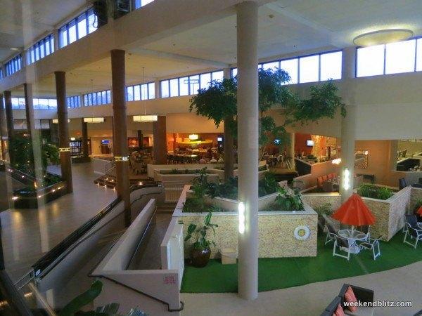 Expansive lobby area