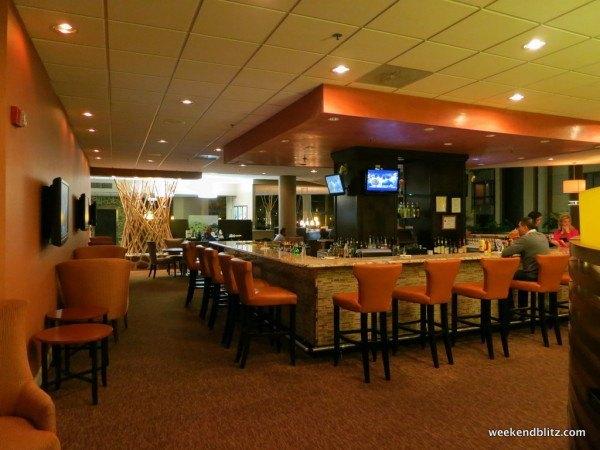 Newly renovated lobby bar
