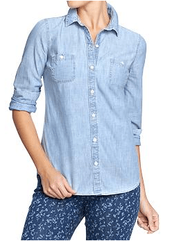 Light Chambray available at Old Navy for only $24.95! http://oldnavy.gap.com/browse/product.do?cid=91073&vid=1&pid=647210002