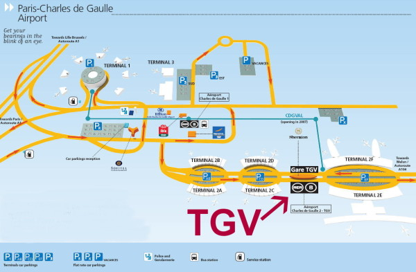 guide to flying into cdg and taking tgv out flyertalk forums. Black Bedroom Furniture Sets. Home Design Ideas
