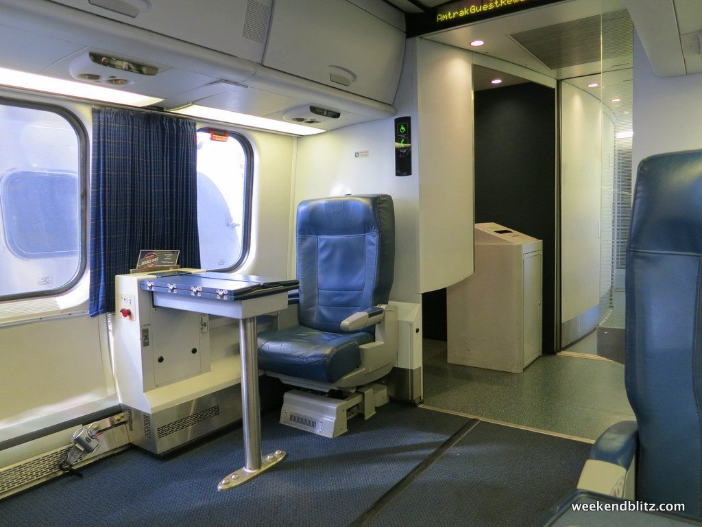 Amtrak Acela Express First Class Washington D C WAS to New York NYP