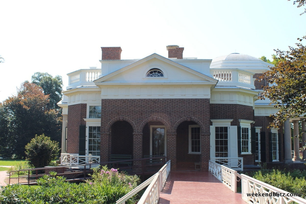 Review of thomas jefferson 39 s monticello charlottesville for Thomas jefferson house monticello