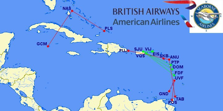 Caribbean Island Hop With British Airways Avios Only 4 500 Points Flight Weekend Blitz
