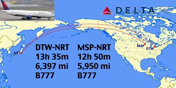 Top 12 Longest Non Stop Delta Flights In The World