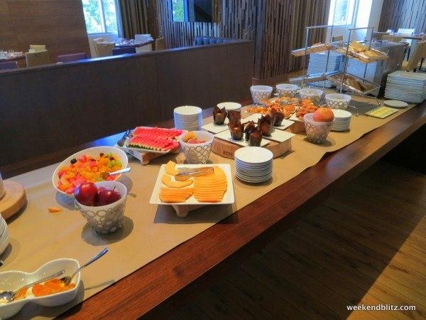 Fork and Juniper breakfast buffet