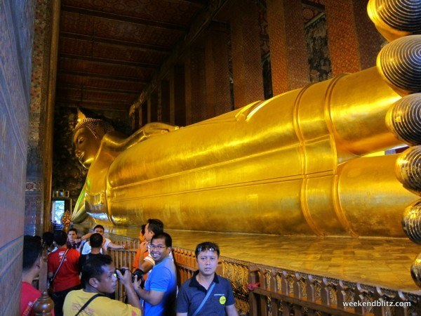 Reclining Buddah at Wat Pho, Bangkok