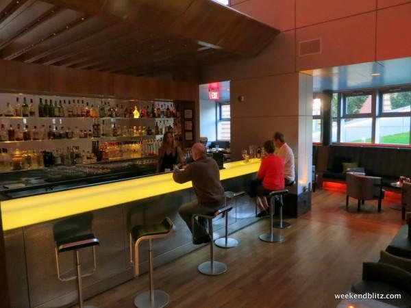 W bar in daylight, lacking a bit of glitz/glamour