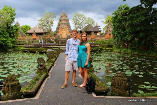 At the Ubud Palace in Bali:  Puri Saren Agung Ubud