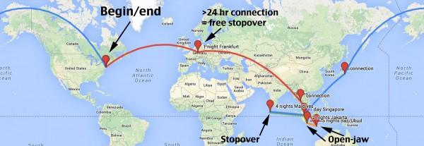 Honeymoon to Bali/Maldives in Star Alliance First: Lufthansa, Thai ...