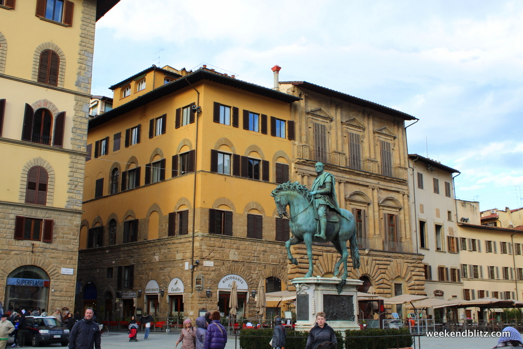 Italian Florence: Walking Tour Of Florence, Italy