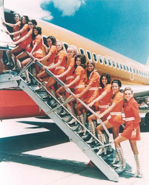 70's Flight Attendant - Southwest