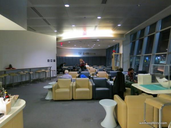 Business Class area