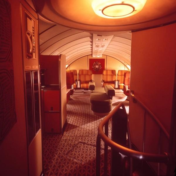 Braniff Boeing 747 Upper Deck