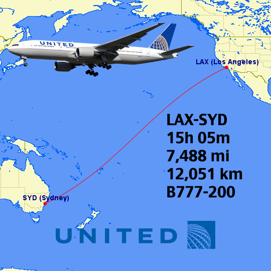 What's the longest UA flight today and in history? - Page 8 - FlyerTalk  Forums