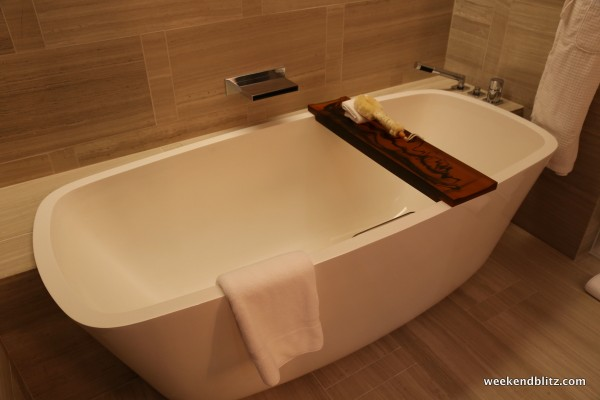 Park Studio Suite bathtub