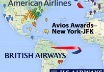 american airlines avios new york jfk