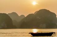Golden Hour Ha Long Bay