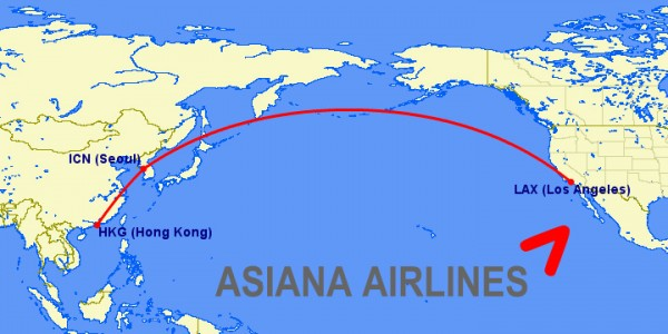 asiana a380 routes