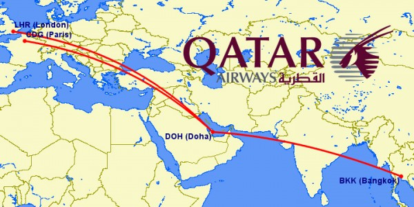 qatar a380 routes