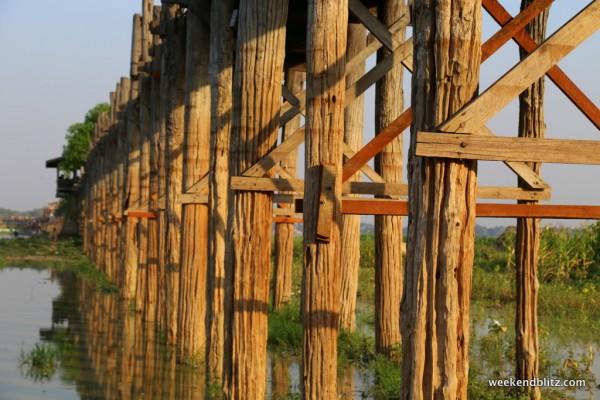 World's longest teak bridge