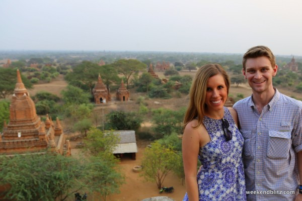 On top of Shwe San Daw Pagoda for the sunset