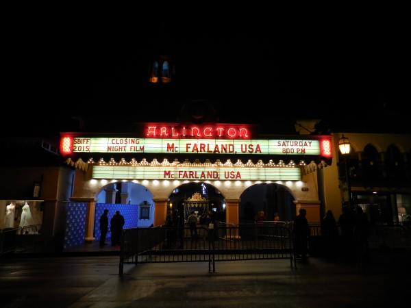 Premier of McFarland USA at the Santa Barbara International Film Festival
