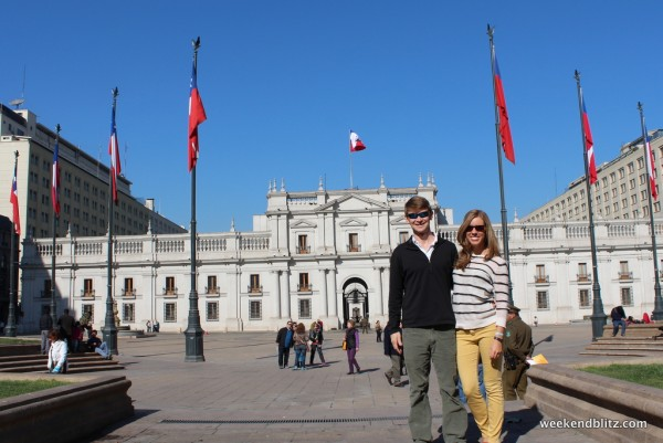 La Moneda Palace, the seat of Chile's President