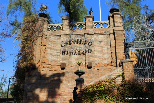 Castillo Hidalgo is on top of Cerro Santa Lucia, built in 1816