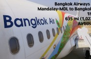 Bangkok Airways mdl to bkk